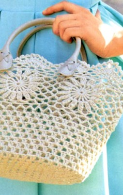 Favorite patterns - crochet bag 8014