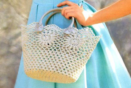 Crochet Bag Pattern Crochet Tote Pattern Crochet Decorative Basket