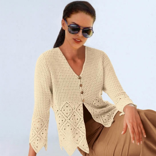 Crochet Cardigan Pattern Casual Cardigan Pattern Casual Crochet