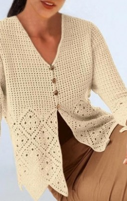 Favorite patterns - crochet jacket 3024c