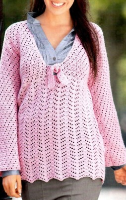 Favorite patterns - crochet tunic 4029e