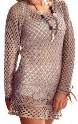 Favorite patterns - crochet tunic 4031c