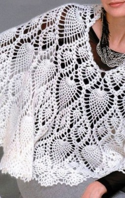 Favorite patterns - crochet cape 7012