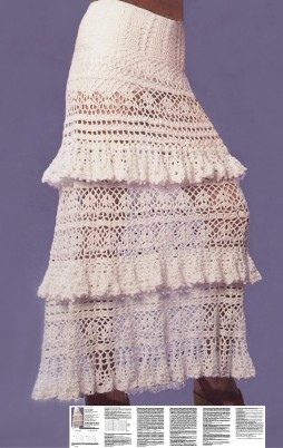 Favorite patterns - crochet skirt 5025