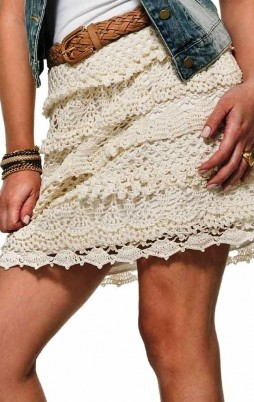 Favorite patterns - crochet skirt 5026