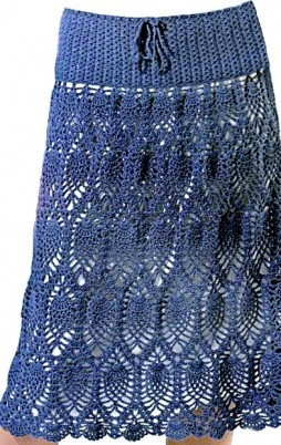 Favorite patterns - crochet skirt 5027b