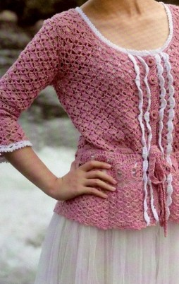 Favorite patterns - crochet tunic 4030