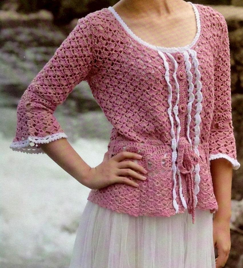 Crochet Tunic Pattern Casual Crochet Tunic Pdf Crochet