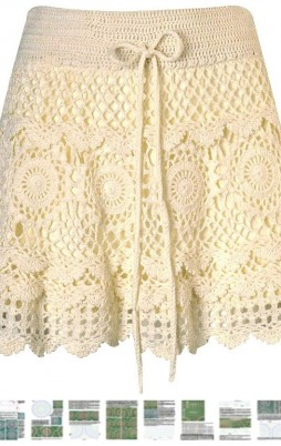 Favorite patterns - crochet skirt 5028
