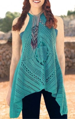 Favorite patterns - crochet top 6031