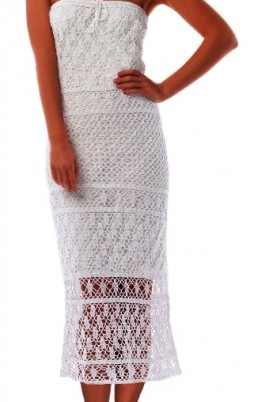 Favorite patterns - crochet dress 1047