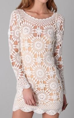 Favorite patterns - crochet dress 1048a
