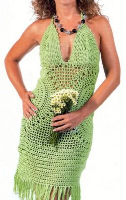 Favorite patterns - crochet dress 1049