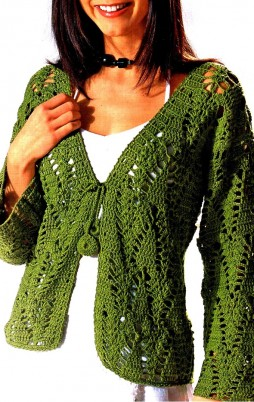 Favorite patterns - crochet jacket 3013z