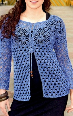 Favorite patterns - crochet jacket 3029e