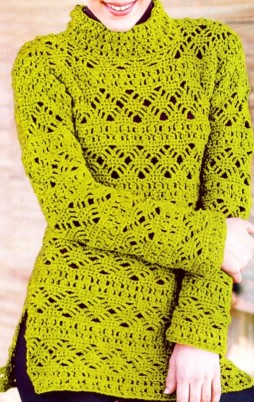 Favorite patterns - crochet pullover 4033