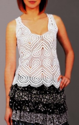 Favorite patterns - crochet top 6034
