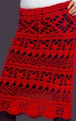 Favorite patterns - crochet skirt 5032b