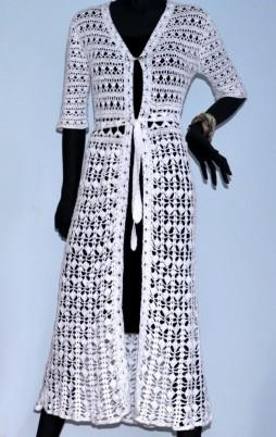 Favorite patterns - crochet coat 3031w