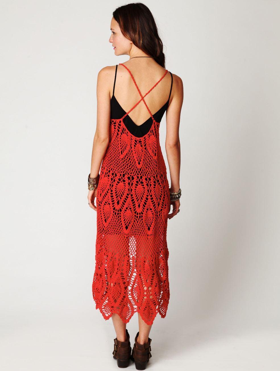 Designer Crochet Dress Pattern Beach Wedding Dress