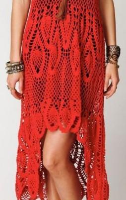 Favorite patterns - crochet dress 1056m