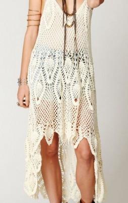 Favorite patterns - crochet dress 1056p