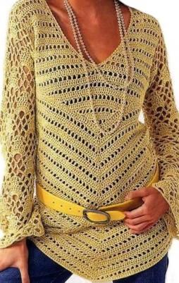 Favorite patterns - crochet tunic 4036a