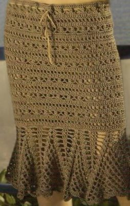 Favorite patterns - crochet skirt 5034