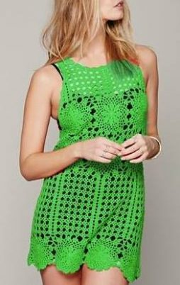 Favorite patterns - crochet dress 1057g