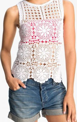 Favorite patterns - crochet top 6040c1