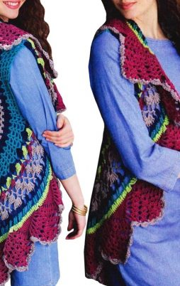 Favorite patterns - crochet vest 3030b