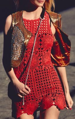 0Favorite patterns - crochet dress 1057e