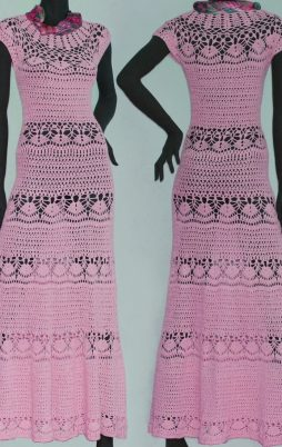 Favorite patterns - crochet dress 1055c