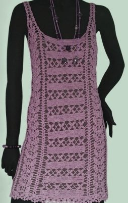 Favorite patterns - crochet dress 1062r