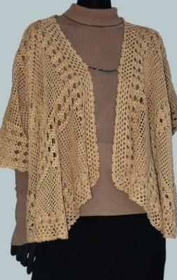 Favorite patterns - crochet jacket 3036
