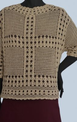 Favorite patterns - crochet tunic 4040p
