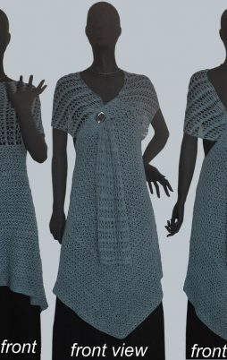 Favorite patterns - crochet wrap-tunic 7018