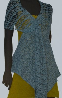 Favorite patterns - crochet wrap-tunic 7018d
