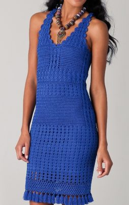 Favorite patterns - crochet dress 1063