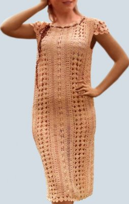Favorite patterns - crochet dress 1065b
