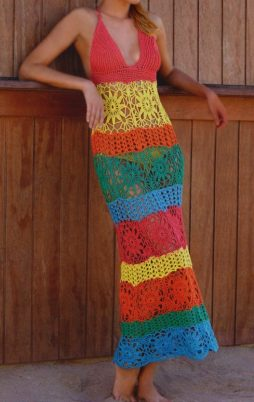 Favorite patterns - crochet dress 1067