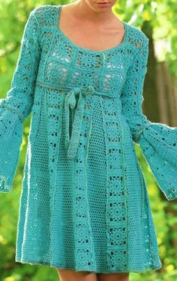 Favorite patterns - crochet dress 1068