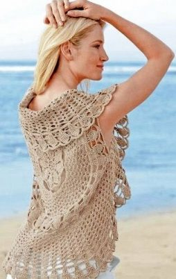 Favorite patterns - crochet jacket 3040a