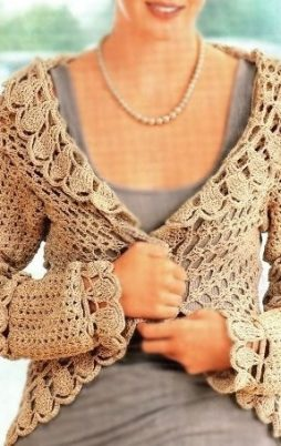 Favorite patterns - crochet jacket 3040b