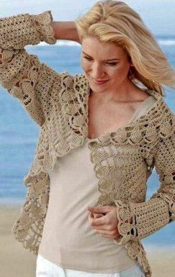 Favorite patterns - crochet jacket 3040c