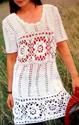 Favorite patterns - crochet dress 1070