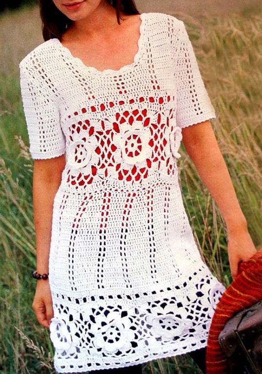 5914504b339 Crochet dress PATTERN ...
