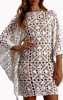 Favorite patterns - crochet dress 1073