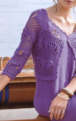 Favorite patterns - crochet jacket 3012w