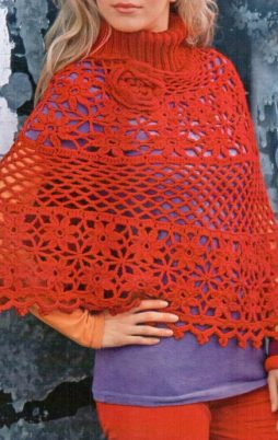 Favorite patterns - crochet poncho 7021